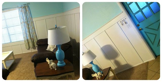 Turquoise lamp re-do