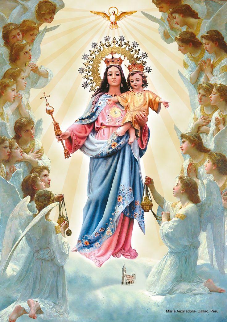 261 Best Auxiliadora Images On Pinterest Virgin Mary