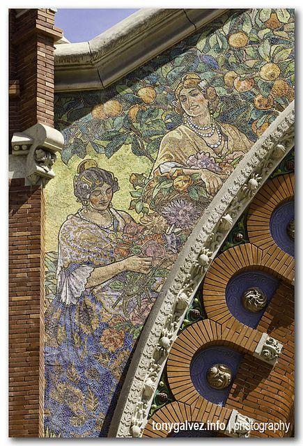 Mercado de Colón, Valencia  http://www.naranjasibericas.es/