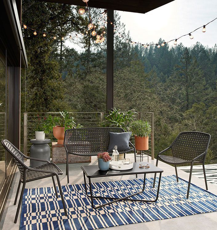 Outdoor Deck Or Patio Furniture For, Outdoor Furniture For Small Spaces