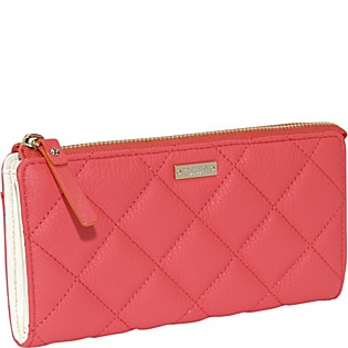 kate spade new york Gold Coast Richie Quilted Zip Continental WalletYork Gold, Electric Pop, Quilt Zip, Continental Wallets, Gold Coast, Richie Quilt, Zip Continental, Kate Spade, Coast Richie
