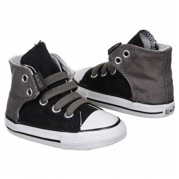 Athletics Converse Kids' EZ Slip Hi Toddler Black/Charcoal FamousFootwear.com