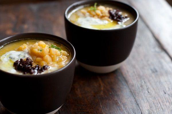 гороховый суп с копчеными ребрышками пошаговый рецепт с фото