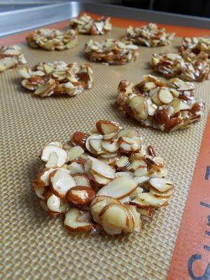 FAIR WINDS AND FOLLOWING SEAS: Almond Florentine Cookies