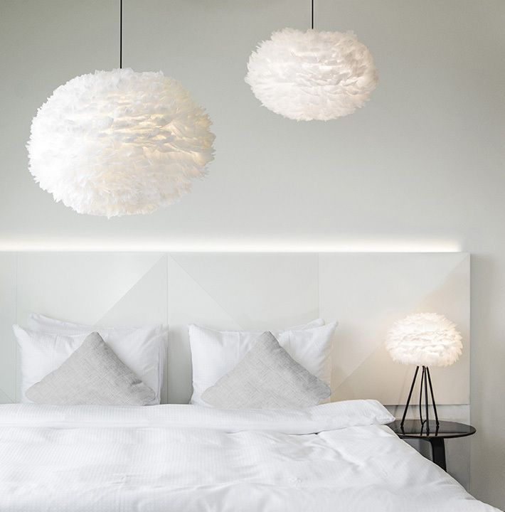Papillon Interiors - Vita Eos Feather Pendant Light, £58.00 (http://www.papilloninteriors.co.uk/vita-eos-feather-pendant-light/)