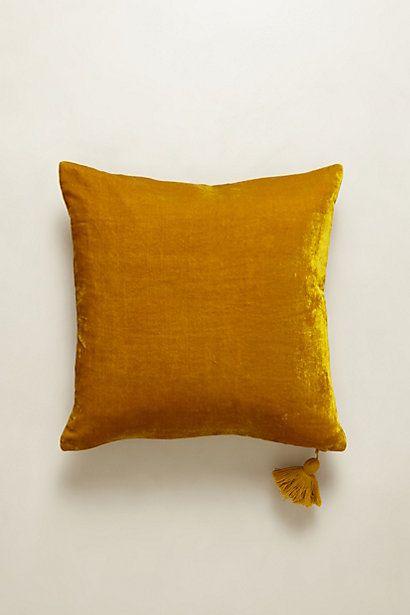 Velvet Silvi Pillow #Anthropologie #PinToWin
