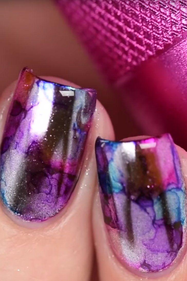 2017 01 nail art designs youtube - Mirror Sharpie Nail Art Is Latest Youtube Manicure Craze