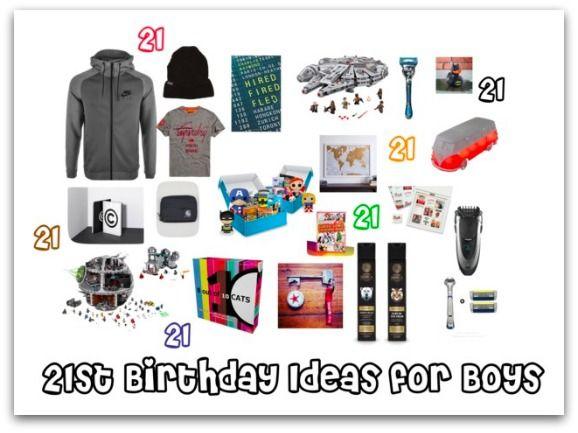 21st Birthday Ideas for Boys - Stressy Mummy