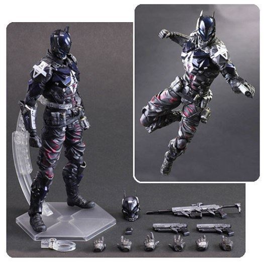 SquareEnix Batman Arkham Knight: Arkham Knight - Play Arts Kai Action Figure NEW - PlayAndCollect