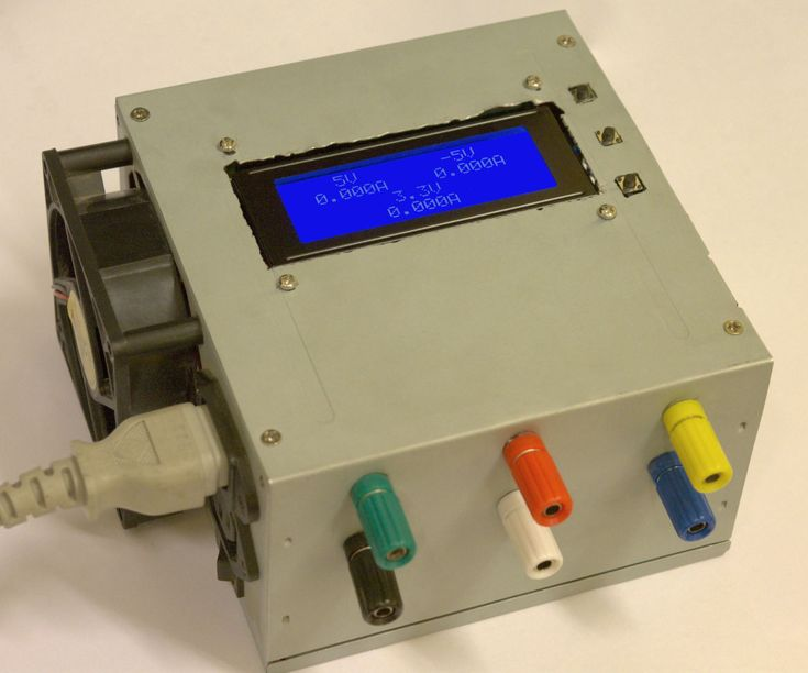 In this instructable I'm going to show you how to convert an old ATX power supply to a bench power supply that also displays the current drawn for eac...