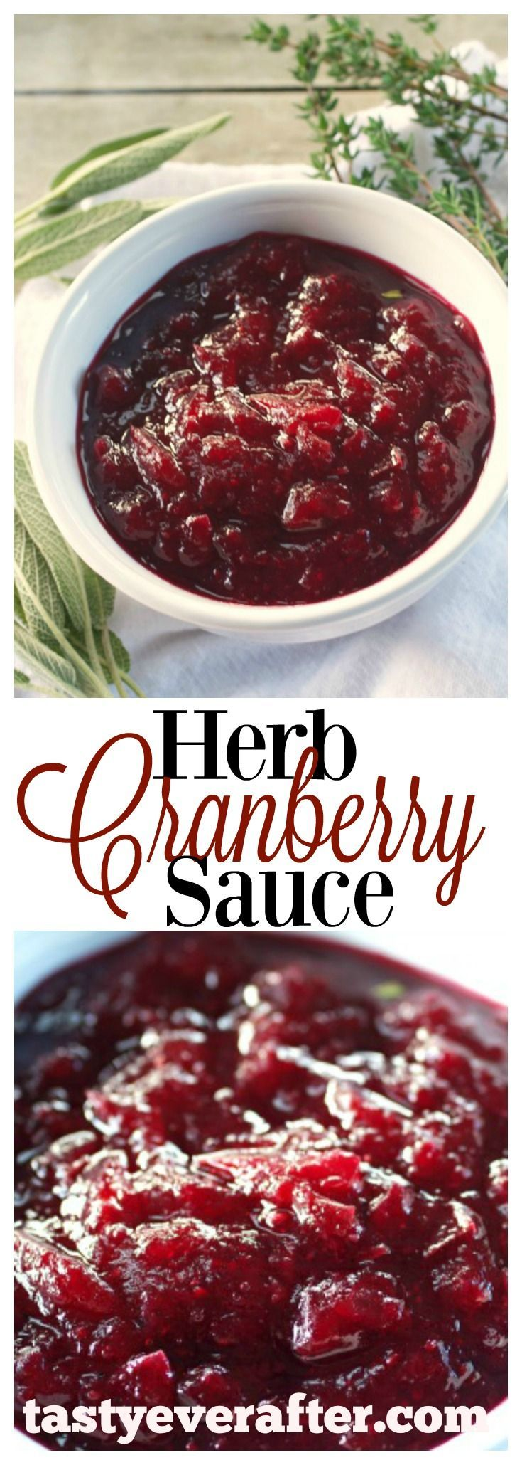 My favorite easy cranberry sauce for Thanksgiving!  Video on how to make it is included too.