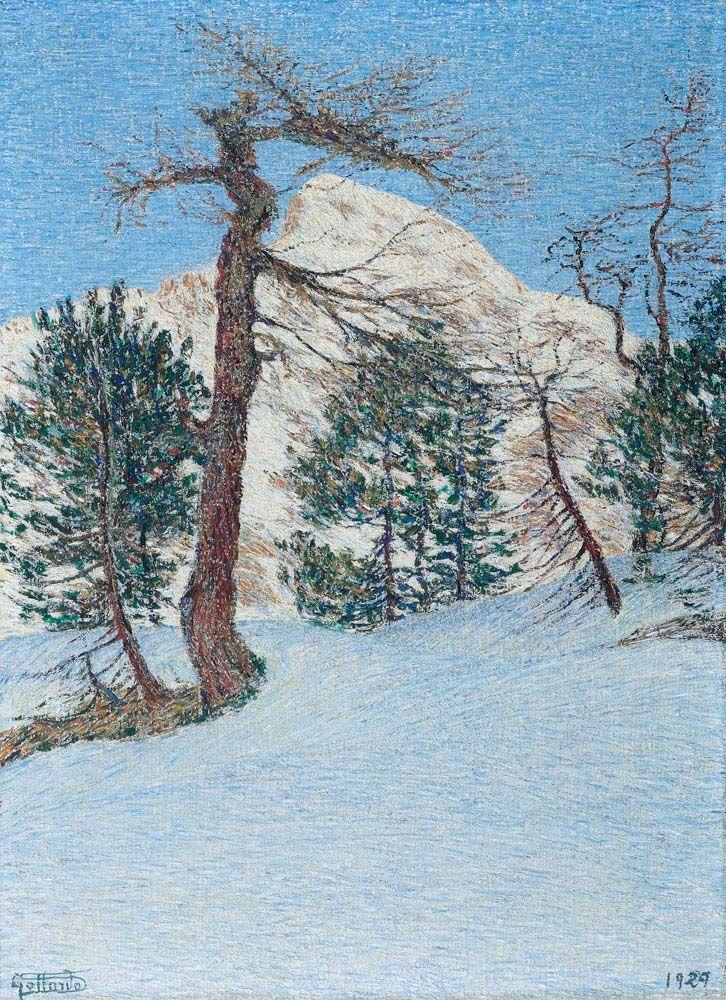 Thunderstruck (Gottardo Segantini (Swiss, 1882-1974), Piz...)