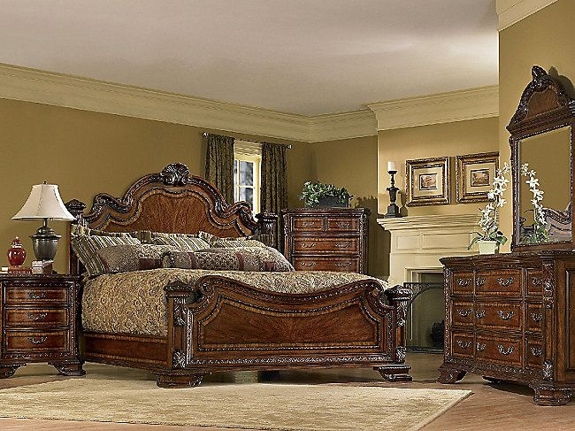 Good ART Furniture Old World 143 Estate Bedroom SetInvite The Flair Of Old World  Charm And The Longevity Of A Well Made Ensemble Into Your Home With The Art