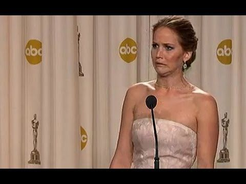 Oscars 2013: Jennifer Lawrence's hilarious winner's press interview. I love her so much.