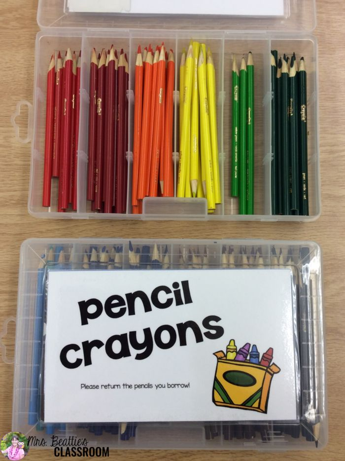 If classroom storage is a challenge for you and you're looking for a DIY storage hack idea for your classroom colored pencils, look no further! I have a cheap and easy storage and organization solution for you!