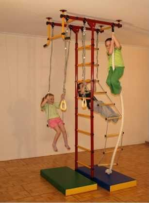find something like this for outside for the kids LIMIKIDS - Indoor  Home Gym for Kids