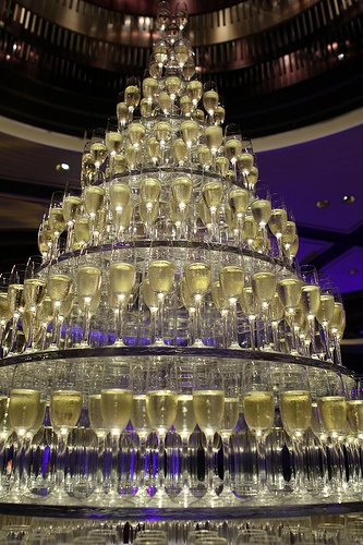 Champagne tower, welcome to my party! Life's better with The Lottery Office https://lotteryoffice.com/adclick?campaignId=26