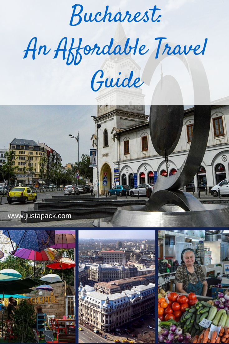 Just a Pack's Affordable Travel Guide to Bucharest. Price lists, tips, and options for Bucharest, Romania.