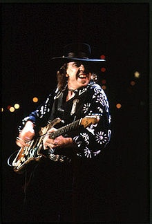 Stephen Ray Vaughan Also known as	SRV Born	October 3, 1954 Dallas, Texas Died	August 27, 1990 (aged 35) East Troy, Wisconsin Genres	Blues rock, electric blues, Texas blues, instrumental rock Occupations	Musician, songwriter Instruments	Guitar, vocals Years active	1965–1990 Labels	Epic, Legacy, Sony Associated acts	Double Trouble, The Fabulous Thunderbirds, Roomful of Blues, Jeff Beck, Joe Cocker
