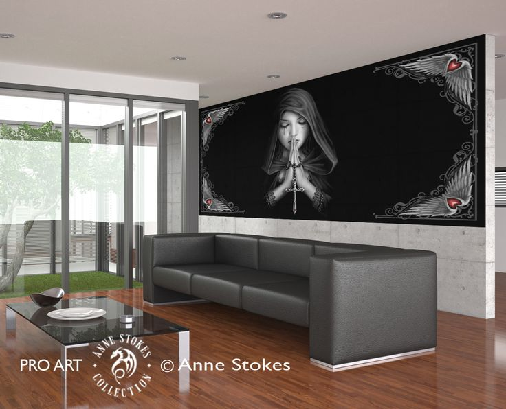 17 best images about anne stokes wall murals on pinterest for Wallpaper for walls for sale