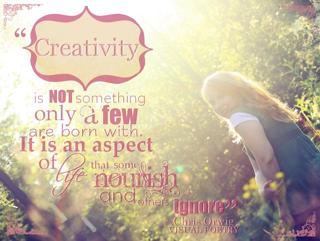 """Pinterest Quotes About Creativity: Keilah Engstrom Photography: """"Creativity"""" Quote By Chris"""