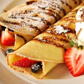 Crepes, a recipe from the ATCO Blue Flame Kitchen.