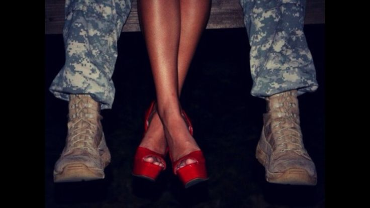 this would be cute but with police boots instead of army boots.
