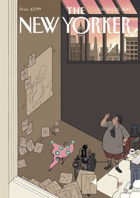 The New Yorker 85th anniversary covers