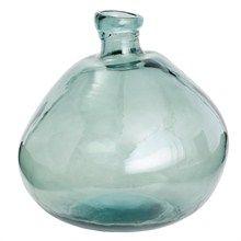 Túto sklenenú dizajnovú fľašu si určite zamilujete. Môžete v nej naaranžovať kvety, alebo Vám poslúži ako štýlová dekorácia.