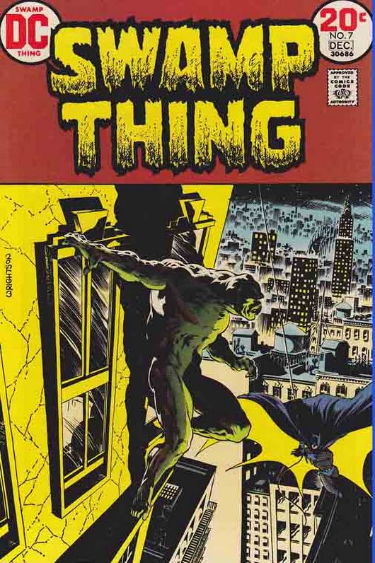 SWAMP THING #7 (1973) ##BernieWrightson Cover, Bernie Wrightson Pencils, ##Le...