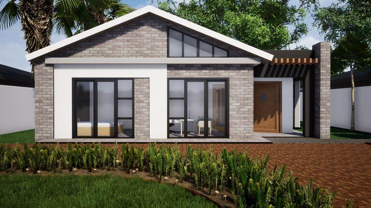 Madokero Tynwald Harare House Modern House Design Architectural Design Studio African House Modern house designs zimbabwe
