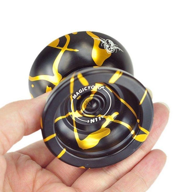 Fentac Magic YOYO N11 Alloy Aluminum Yo-Yo Professional YoYo Toy Black&Glod, Hobbies - Amazon Canada