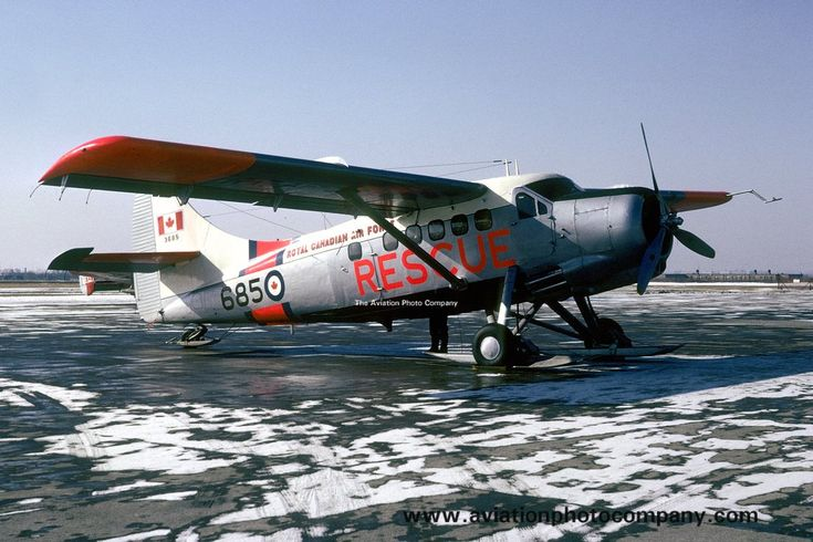 Royal Canadian Air Force Rescue DHC-3 Otter 3685 (1966)