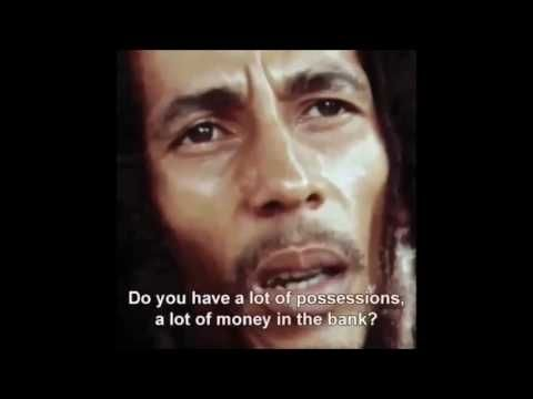 Interesting perspective from Bob Marley. What do you think he meant? Comment below.