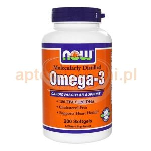 Omega-3 1000mg, 200 kapsułek
