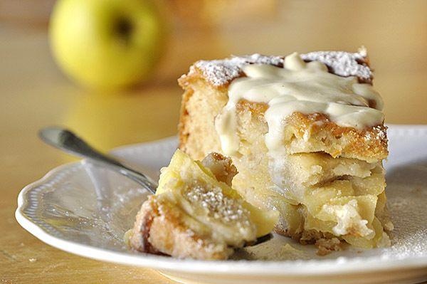 Μεθυσμένο κέικ μήλων/Drunken apple cake