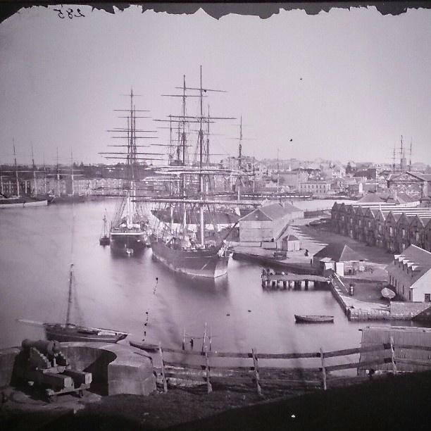 .@wanderlande   Circular Quay from Dawes Point • 1873