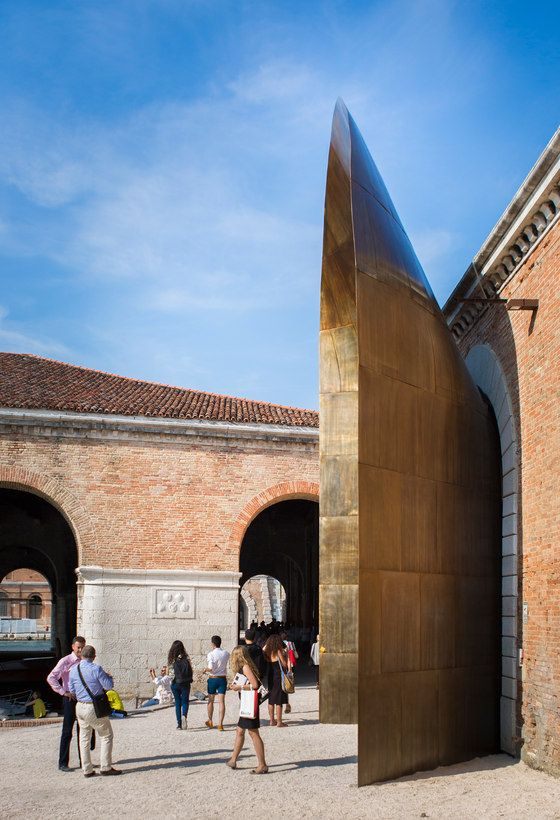"An ""Archimbuto"" for the Italian Pavilion"