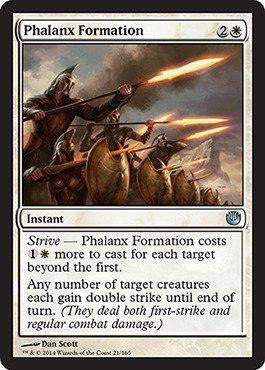 Magic: the Gathering - Phalanx Formation (21/165) - Journey into Nyx - Foil