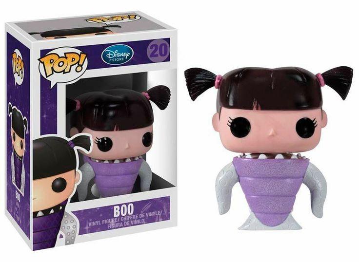 Cabezón Monstruos S.A. Boo, Funko POP Disney Cabezón creado por Funko, del personaje de Boo, la niña protagonista de la película Monstruos SA.