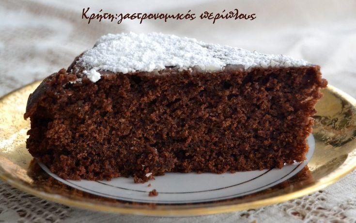 Κέικ σοκολάτας με ελαιόλαδο και αλεύρι ολικής άλεσης χωρίς μίξερ (νηστίσιμο) - TO DO!!!!!!!!!!!!!!!!!!!!!!