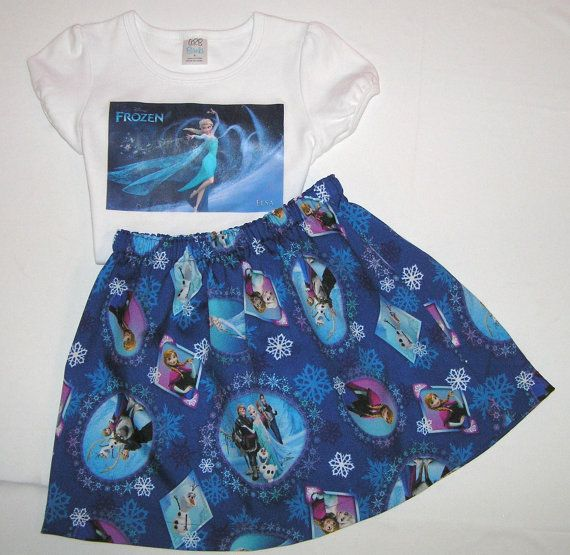 Elsa outfit  Frozen outfit  Back to school by GirlsGoneGirlie, $44.95