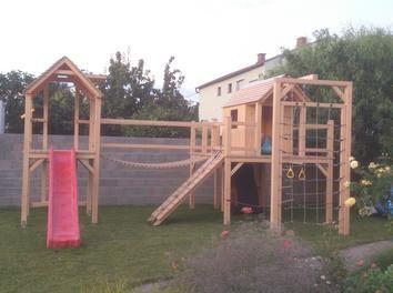 Design and build a backyard #playground for your little princess: http://www.1-2-do.com/de/projekt/Kletterturm-fuer-meine-Tochter/bauanleitung-zum-selber-bauen/19287/