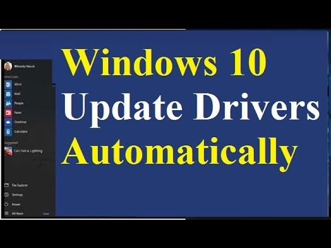 Windows 10 Update Drivers Automatically https://youtu.be/2ANmbGidca0 Click on the link below for best driver updater for windows 10 http://ift.tt/2pkY1dt House windows 10 is familiar and straightforward to use with plenty of similarities to House windows 7 including the Start out menu. It starts up and resumes fast has more built-in security to help keep you safe and is designed to work with software and hardware you already have. https://www.youtube.com/watch?v=UGLhqLJgDpQ…