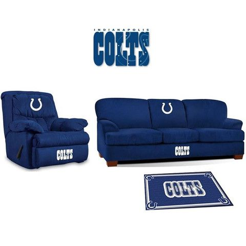 [[start Tab]] Description The Indianapolis Colts NFL All Star Fan Cave Set  Is Made Especially For The Big And Tall Fan. It Includes The Big Daddy  Rocker ...