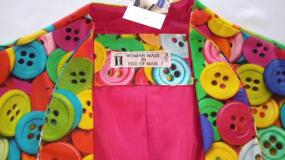 Check out this item in my Etsy shop https://www.etsy.com/uk/listing/467470661/m-cotton-buttons-bolero-jacket