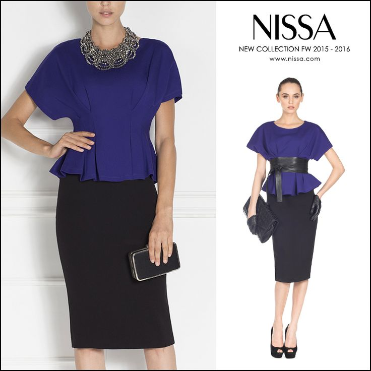 #nissa #new #collection #TI2015 #fw2015 #newcollection #fashion #fashionista #womans #print #now #in #stores #shop #top #blue  www.nissa.com