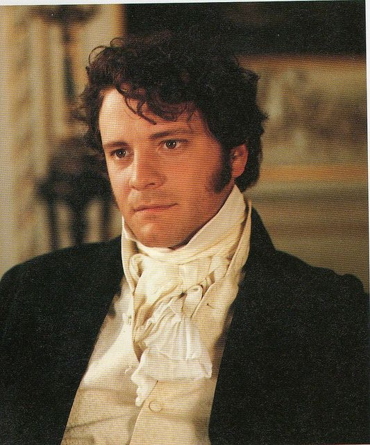 """Colin Firth as Mr. Darcy(Pride and Prejudice) What reason do you need beyond """"Mr. Darcy"""" and Colin Firth?"""