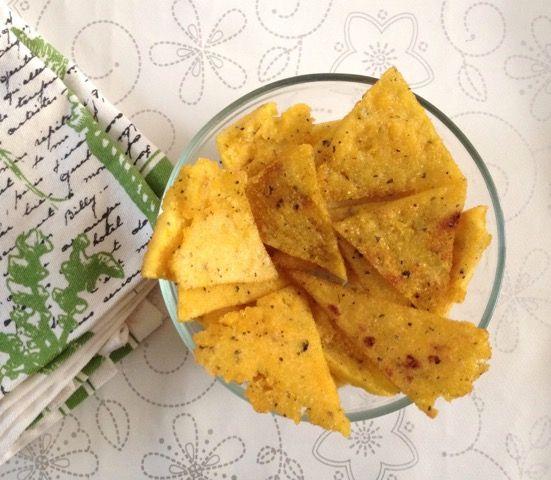 Receta de paté de champiñón con chips de maíz
