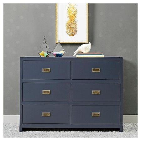 BLUE PAINT COLOR FOR KITCHEN CORNER CABINET. Baby Relax Miles Campaign Dresser - Blue : Target
